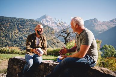Nicolas Burri rencontre Marc Voltenauer