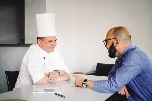 Nicolas Burri rencontre Franck Giovannini