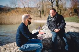 Nicolas Burri rencontre Nicolas Feuz