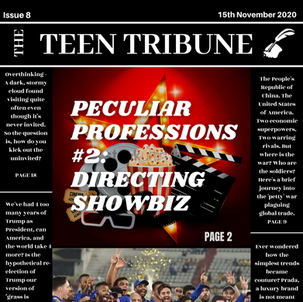 ISSUE 8   15th November 2020