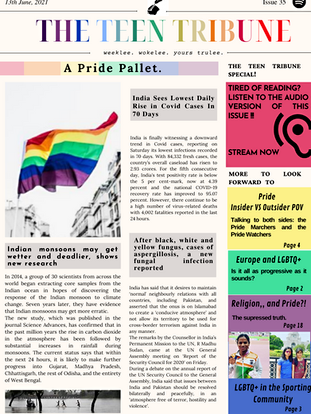 ISSUE 35   13th June 2021