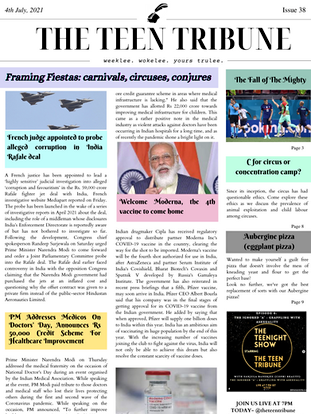 ISSUE 38   4th July 2021