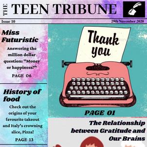 ISSUE 10   29th November 2020