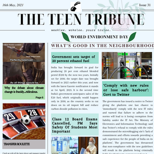 ISSUE 34   6th June 2021