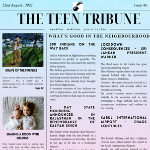 ISSUE 44 | 22nd August 2021