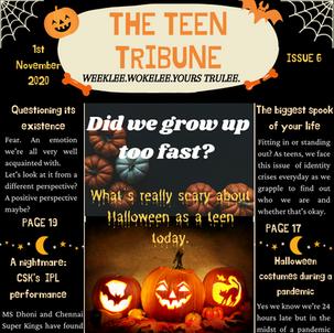 ISSUE 6 | 1st November 2020