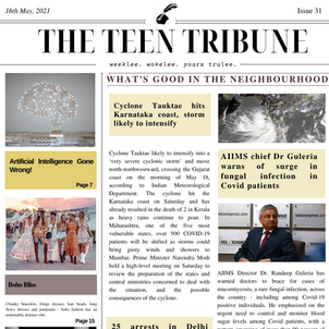 ISSUE 31   16th May 2021