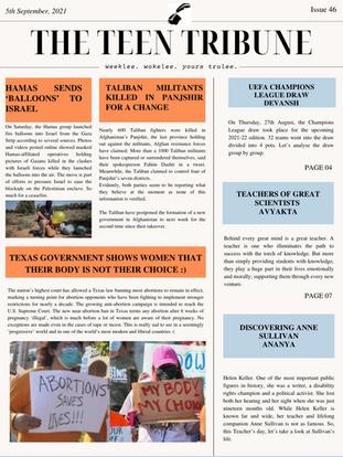 ISSUE 46 | 5th September 2021