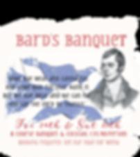 Just Be Burns Weekend Bard's Banquet