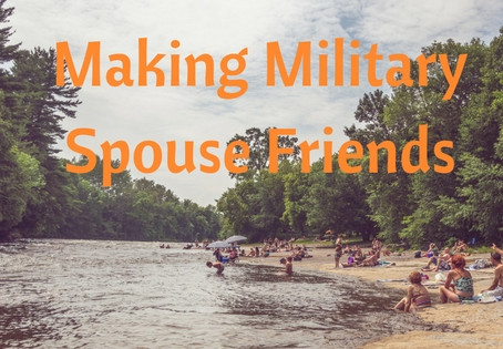 Making Military Spouse Friends