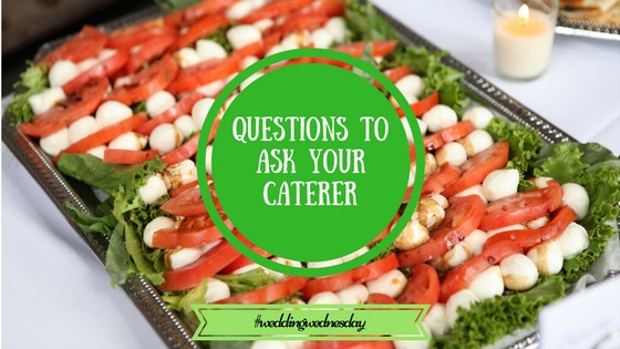 questions to as your caterer caprese salad