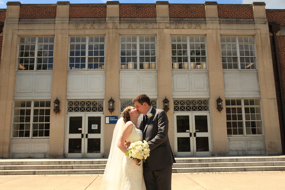 Durham School of the Arts wedding photo