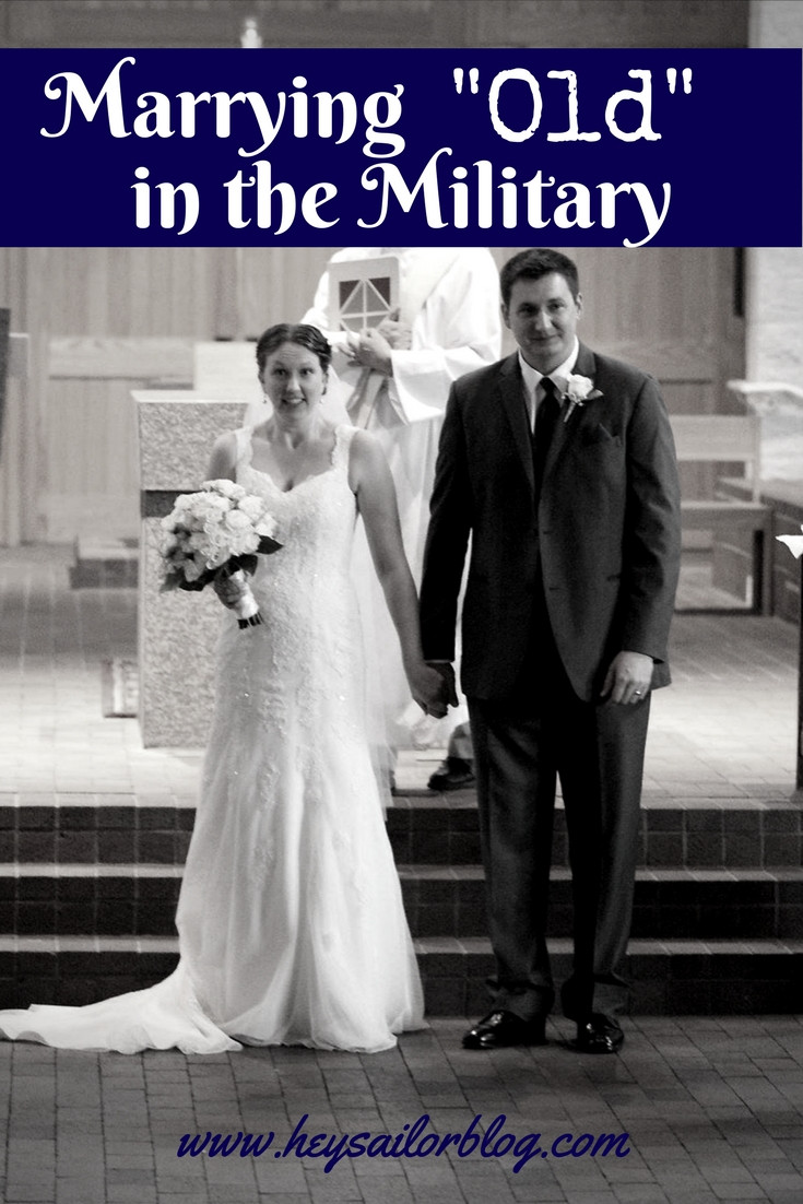 marrying old in the military