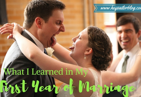 What I Learned in My First Year of Marriage