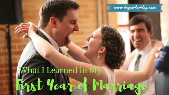 what I learned in my first year of marriage hey sailor blog wedding