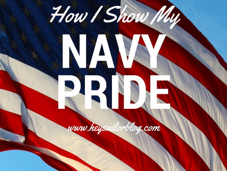 How I Show My Navy Pride