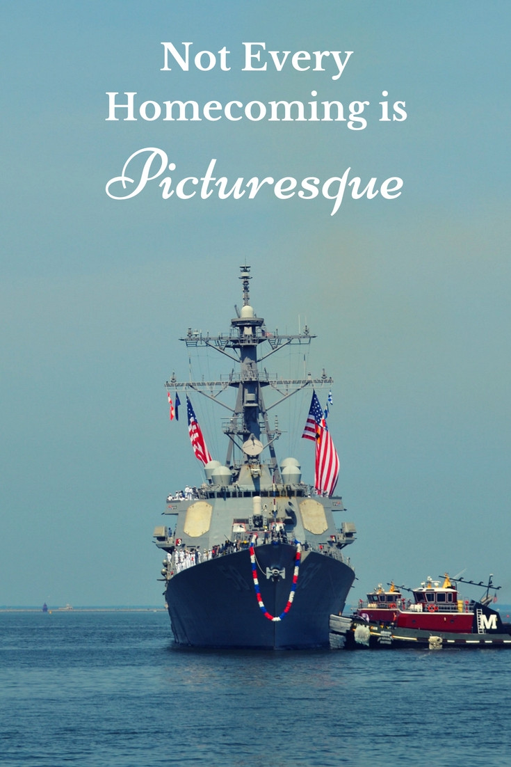 navy ship homecoming
