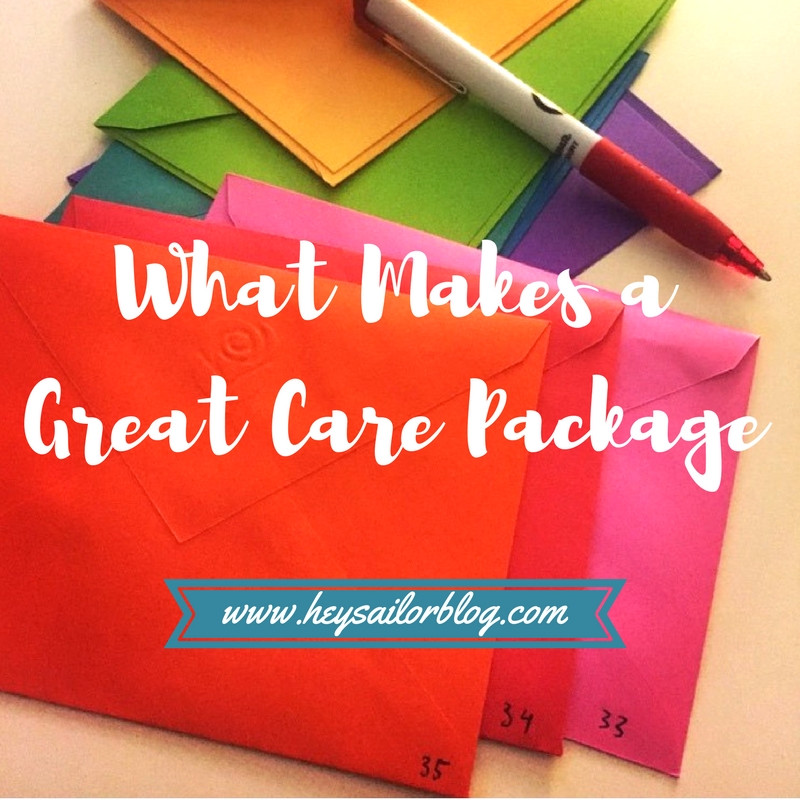 what makes a great care package