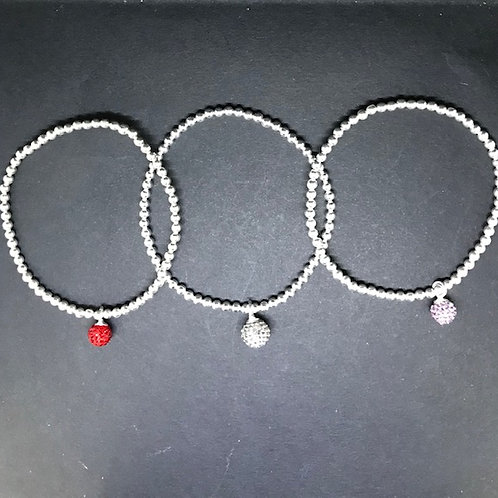 bracelet Boule de disco