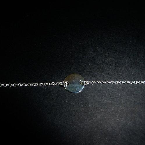 Bracelet souple plaque