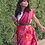 Thumbnail: Handloom Pochampally ikat silk sarees