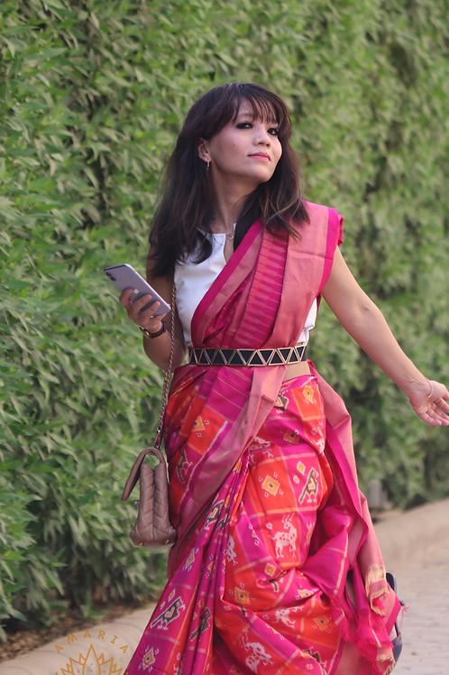 Handloom Pochampally ikat silk sarees