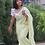 Thumbnail: Georgette chikankari saree