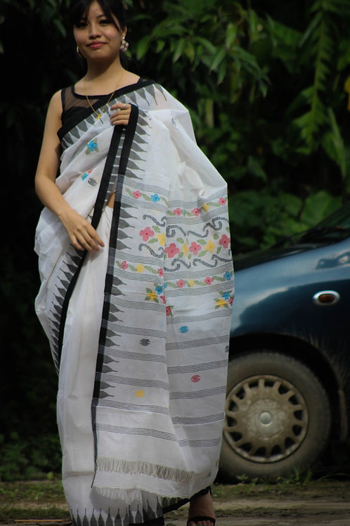Cotton Moirangphee saree