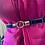 Thumbnail: Elastic waist belt with loop buckle