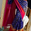 Thumbnail: Handloom Pochampaly ikat silk saree