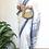 Thumbnail: Handloom pure cotton begampuri saree