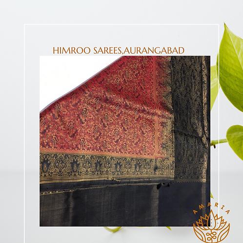 Handloom handloom himroo silk saree( confirm for prebooking first on whatsapp )