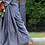 Thumbnail: Pure kanjeevaram silk slate gray