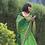 Thumbnail: Pure georgette nimzari bandhani saree