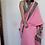 Thumbnail: Sozni needle embroidery on pure chinon silk