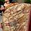 Thumbnail: Double palla concept hand drawn kalamkari on pure kanjeevaram silk saree