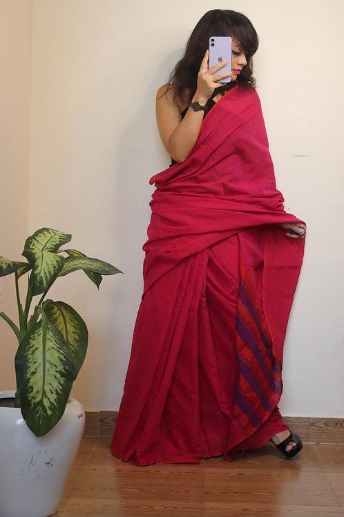 Narayanpet mercerised handloom cotton