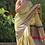Thumbnail: Handloom Banarasi pure kataan silk saree