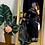 Thumbnail: HANDLOOM COTTON PAITHANI SAREE SMALL PEACOCK MOTIFS