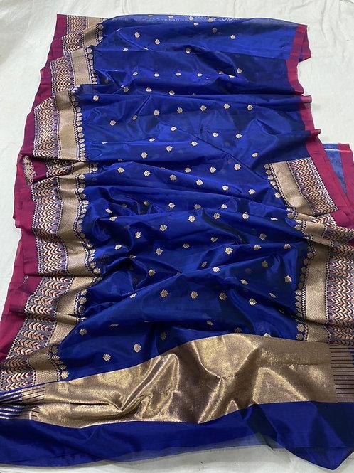 Chanderi patti silk