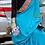 Thumbnail: Sozni Needle embroidery on pure 60gm crepe silk
