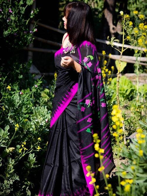 Moirangphee russian silk saree