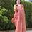 Thumbnail: Handloom pure linen saree