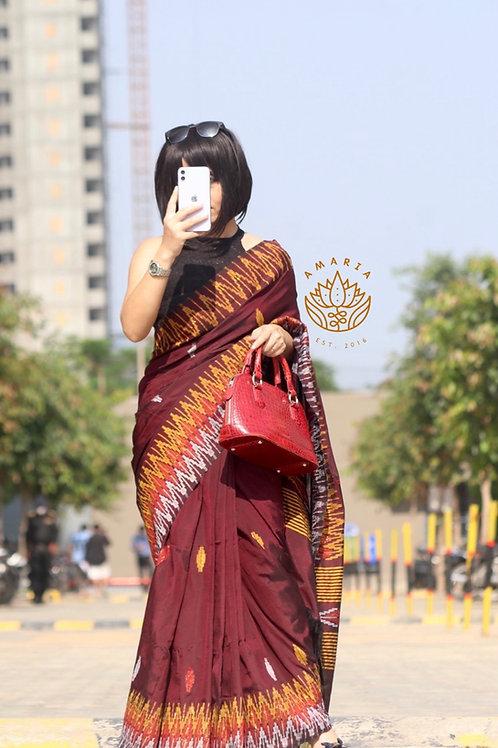 Nepal handwoven saree