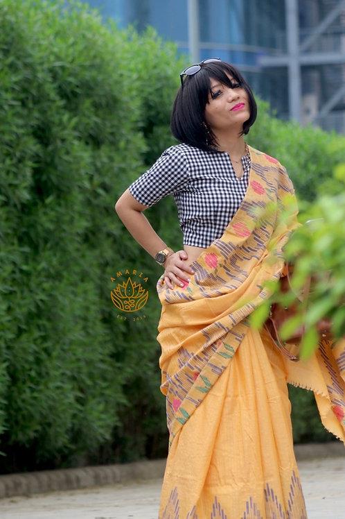 Nepal handloom saree cotton