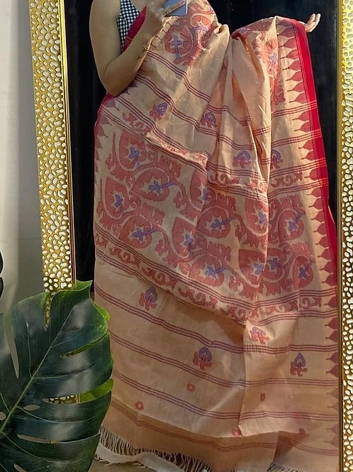 Moirangphee cotton saree