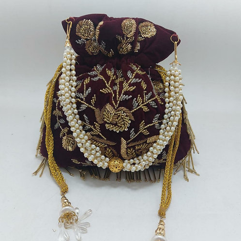 EMBROIDERY POTLI