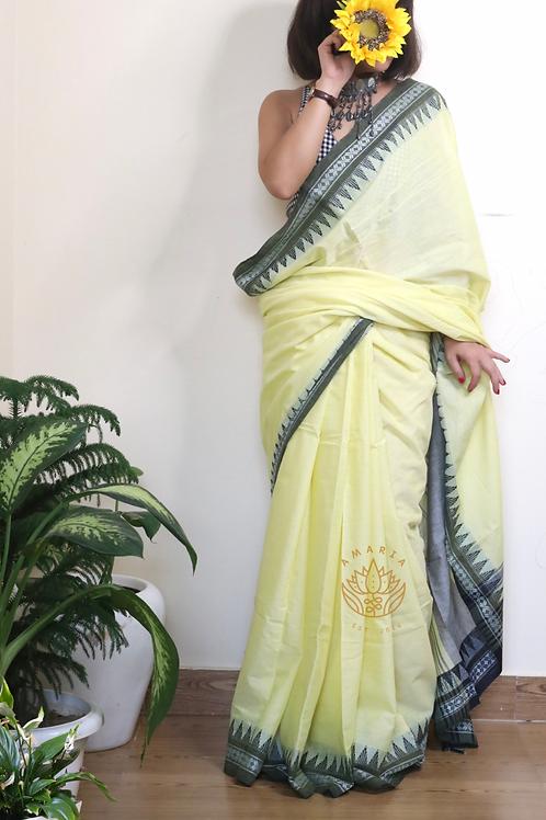 Handloom begampuri cotton saree