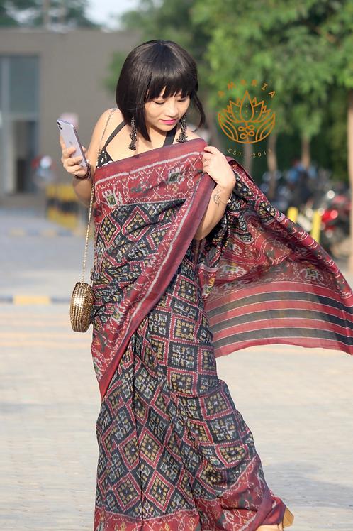 Handloom cotton patola from Gujarat