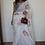 Thumbnail: Handloom Linen saree with jamdani multicolor woven